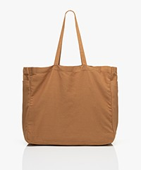 Monk & Anna Kyodaina Canvas Shopper - Kaki