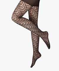 Wolford Logomania Tights - Black