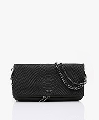 Zadig & Voltaire Rock Savage Schoulder Bag/Clutch - Black