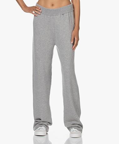 extreme cashmere N°104 Loose-Fit Cashmere Broek - Grijs