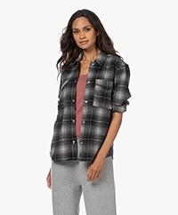 Rails Turner Geruite Flanellen Overhemd - Ash Pearl
