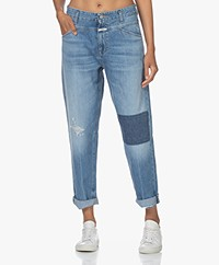 Closed X-Lent Relaxed-fit Jeans - Mid Blue