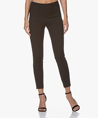 By Malene Birger Adelio Slim-fit Broek - Zwart