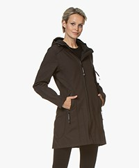 Ilse Jacobsen Softshell Raincoat Rain07 - Black