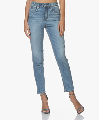 Drykorn Mom Stretch-denim Jeans - Blue