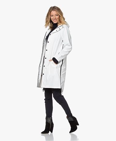 Maium 2-in-1 Rain Coat - Off-white