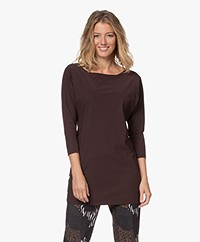 LaDress Reese Travel Jersey Long Shirt - Hazel