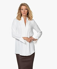 Woman by Earn Nada Blouse with Slit Sleeves - Off-white
