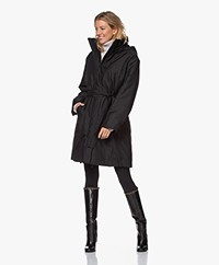 Filippa K Vienna Recycled Padded Coat - Black