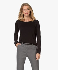 James Perse Supima Cotton Sweatshirt - Black
