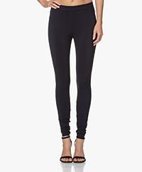 Woman by Earn Whitney Bonded Tech Jersey Legging - Navy