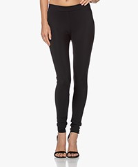 Woman by Earn Whitney Bonded Tech Jersey Legging - Zwart