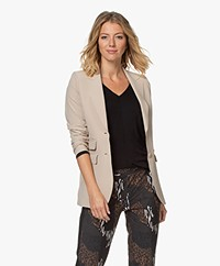 JapanTKY Yuu Tailored Blazer - Warm Sand