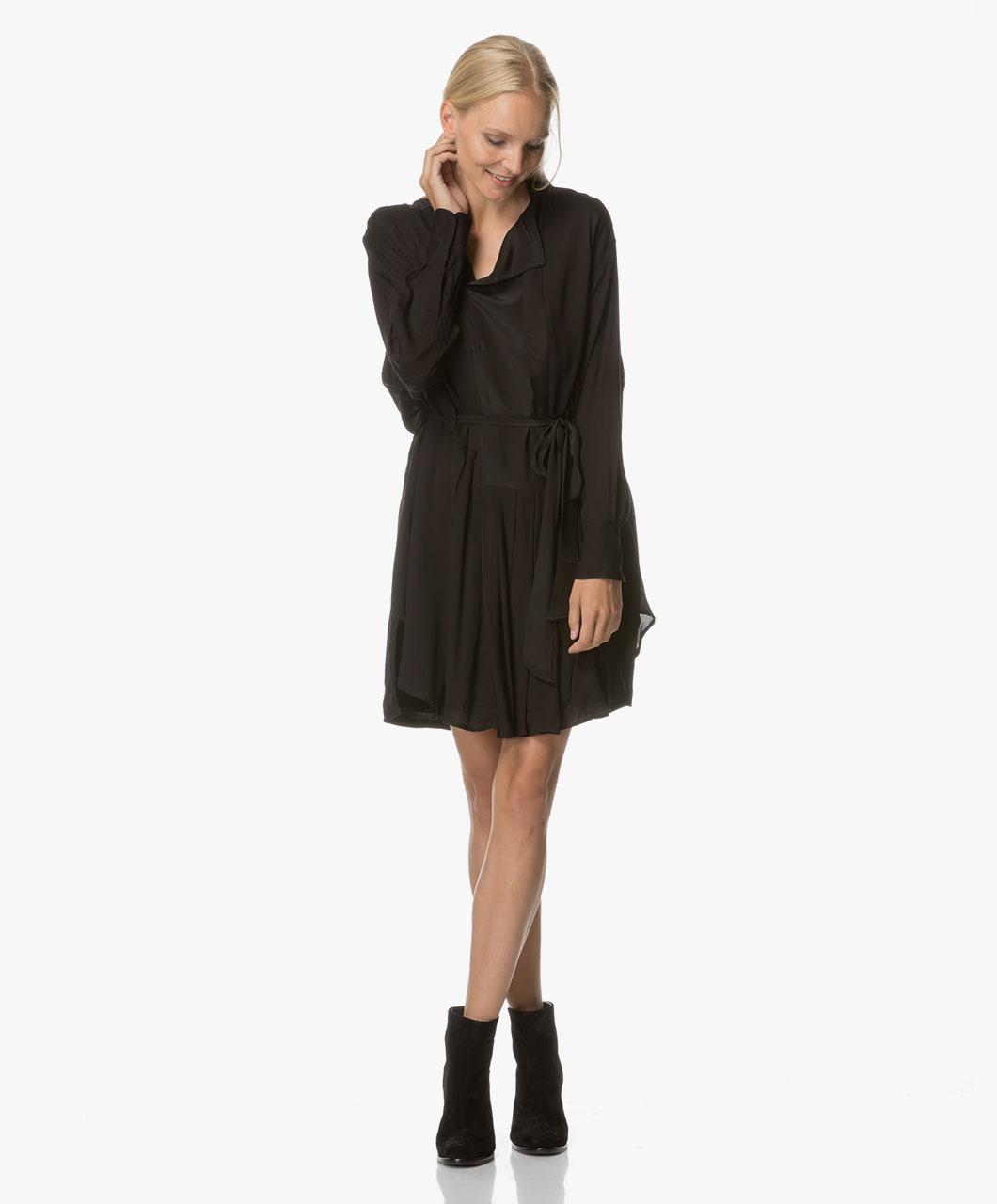 Image of Magali Pascal Dress Black Phoenix