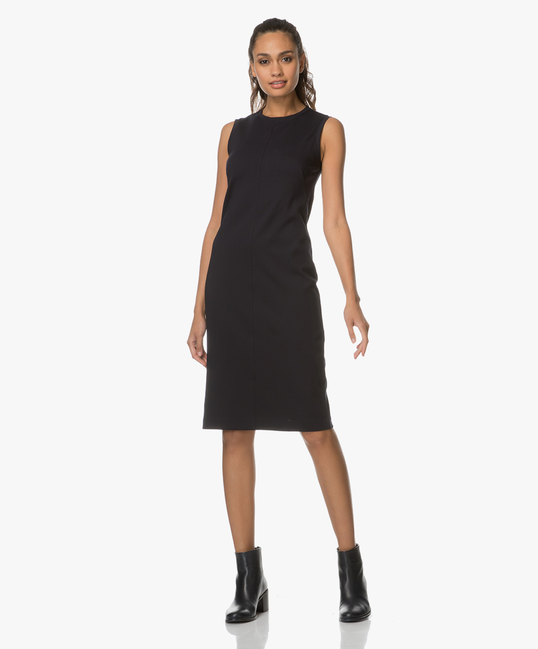 filippa k fitted shift dress
