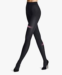 Wolford Velvet 66 Leg Support Tights - Black