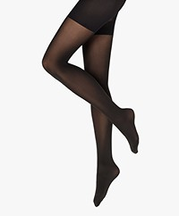 Wolford Tummy 66 Control Top Tights - Black