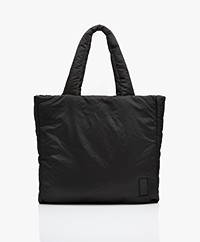Closed Freya Puffer Shopper Bag - Black