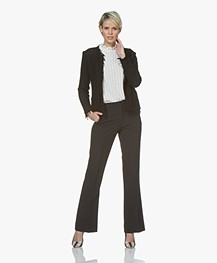 BY-BAR Ro Flared Pantalon - Zwart