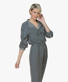 Closed Cameron Lyocell Twill Jumpsuit - Aviator Blue