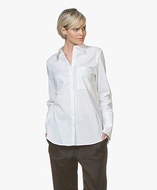 Drykorn Charlee Cotton Shirt - White