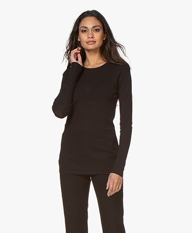 Filippa K Eloise Long Sleeve - Black