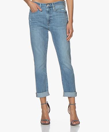 Frame Le Beau Loose-fit Jeans - Walden Rock