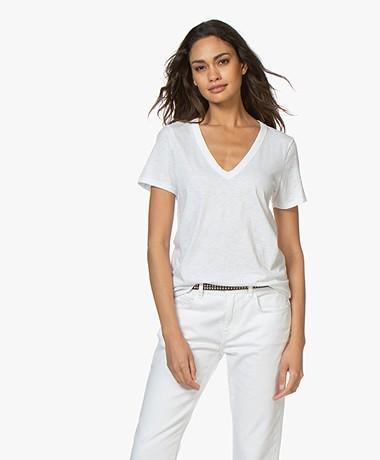 Rag & Bone The Vee T-shirt - Bright White