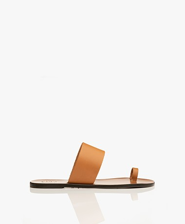 ATP Atelier Astrid Leather Toe Sandals - Terra