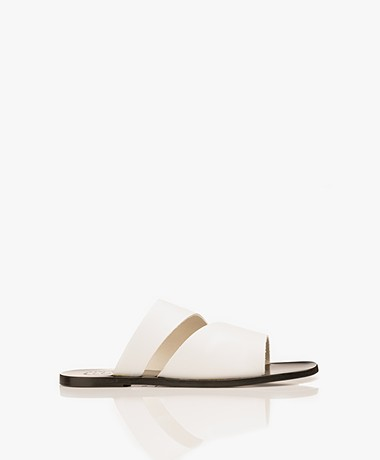 ATP Atelier Lis Leather Sandals - White