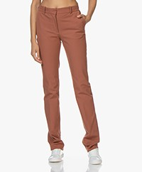 Joseph Cole Gabardine Stretch Pantalon - Rust