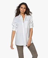 Drykorn Charlee Cotton Poplin Shirt - White