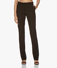 Joseph Cole Gabardine Stretch Pantalon - Black