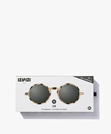 IZIPIZI SUN #G Sunglasses - Light Tortoise/Grey Lenses