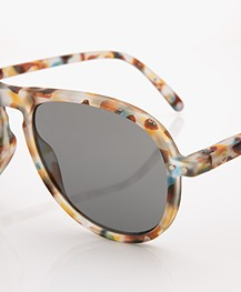 IZIPIZI SUN #I Sunglasses - Blue Tortoise/Grey Glasses