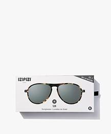 IZIPIZI SUN #I Sunglasses - Tortoise/Grey Lenses