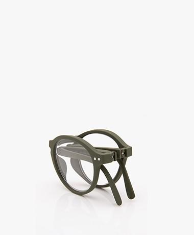 IZIPIZI READING #F Reading Glasses - Khaki Green