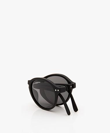 IZIPIZI SUN #F Zonnebril - Zwart/Grijze Glazen