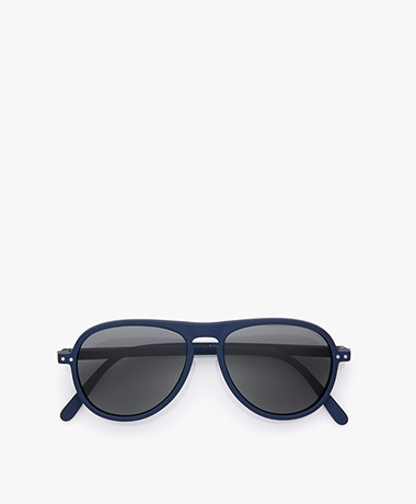 IZIPIZI SUN #I Sunglasses - Navy Blue/Grey Lenses