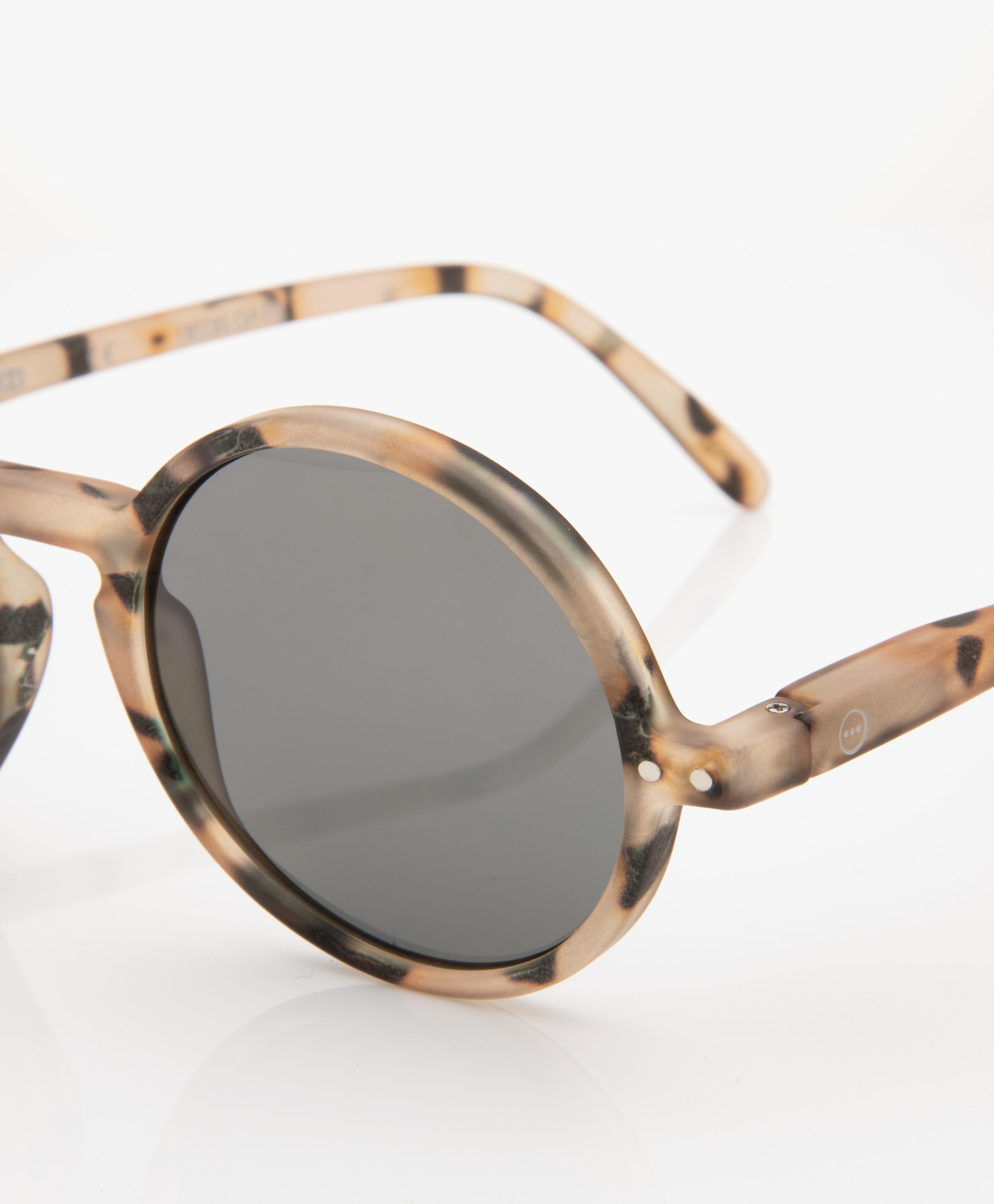 9e1c447bb8e21e IZIPIZI SUN  G Sunglasses - Light Tortoise Grey Lenses - sun  g light  tortoise soft lenses