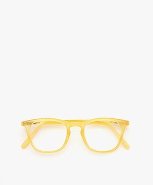 IZIPIZI READING #E Leesbril - Yellow Chrome