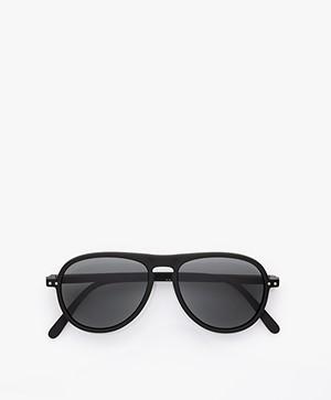 IZIPIZI SUN #I Sunglasses - Black/Grey Lenses