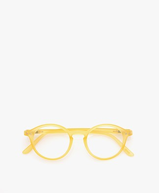 IZIPIZI READING #D Leesbril - Yellow Chrome