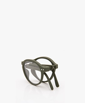IZIPIZI READING #F Reading Glasses - Khaki Green