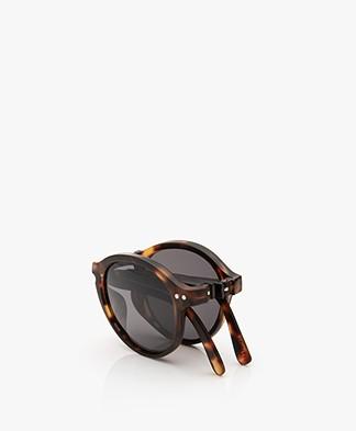 IZIPIZI SUN #F Sunglasses - Tortoise/Grey Lenses