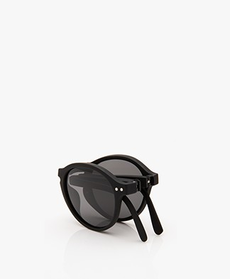 IZIPIZI SUN #F Sunglasses - Black/Grey Lenses