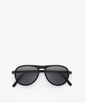 IZIPIZI SUN #I Sunglasses - Black/Grey Lenses