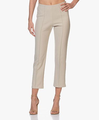 By Malene Birger Viggie Bonded Jersey Broek - Nature