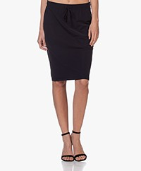 Josephine & Co Roy Travel Jersey Skirt - Navy