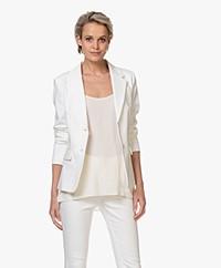 Drykorn Boulder Ponte Jersey Blazer - Off-white
